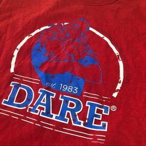Rare Vintage Dare Lion T-shirt